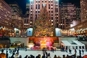 Merry Christmas from Rockefeller Plaza