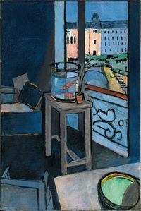 Henri Matisse Interior With Goldfish