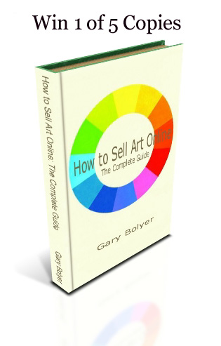 Win 1 of 5 copies of How to Sell Art Online