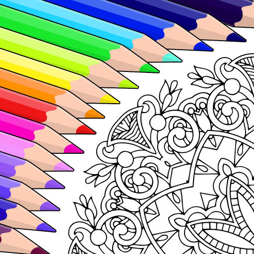 Colorfy: Free Coloring Book for Adults - Best Coloring Apps by Fun Games For Free Image